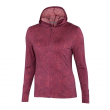 Women's VT Hooded Full Zip by Ibex in Durango Co