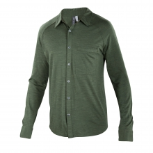 Men's OD Heather Long Sleeve Shirt by Ibex