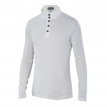 Men's Waffle Knit Henley by Ibex