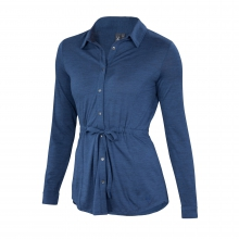 Women's OD Drawstring Shirt by Ibex in Missoula Mt