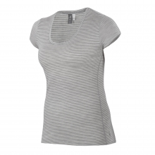 Women's OD Heather T Stripe by Ibex in Fairbanks Ak