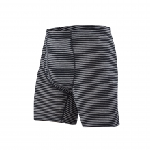 Men's Woolies 1 Boxer Brief Stripe by Ibex