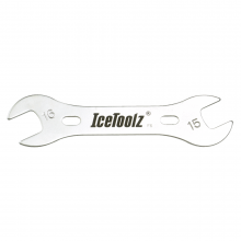 Cone Wrench 15-16mm double ended. by Icetoolz