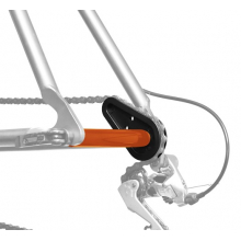 ChainMaster for chain stay/dropout/derailleur protection during transport.