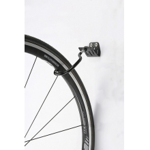"""Wheel """"Two-Way"""" Storage Hook for wall or slat wall mount. by Icetoolz"""