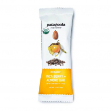 Organic Inca Berry + Almond Bars 1.2 oz by Patagonia Provisions in Colorado Springs CO