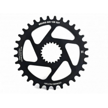 GECKO SHIMANO XTR 12 Speed Compatible 34 tooth round chain ring.  0mm offset. 70 Grams.