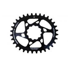 GECKO SHIMANO XTR 12 Speed compatible elliptical chain ring - 28 tooth.   0 mm offset. 56 Grams.