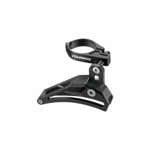 SEAT TUBE CLAMP CHAIN GUIDE. With 34.9 adapter to 31.8 Material: AL6061-T6 Chain guard Spec: 34.9mm Color: S.B Black/Black Weight: 80g