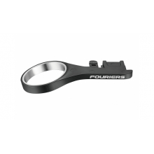 SHIMANO DI2 JUNCTION ADAPTER Material: Nylon & AL6061-T6 Length: 32mm Angle: 17° Weight: 7g/pcs Color: Black