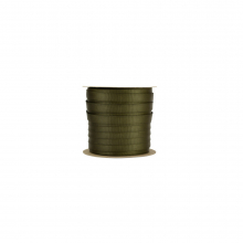 """1"""" Tubular Mil-Sp Web Wheel Olive 30' by Sterling Rope"""
