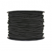 "1/8"" (3mm) Shock Cord Black 500'"
