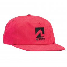 Team Hat Red Adjustable by Marker