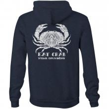 Men's Eat Crab Hoodie by Grundens in Chelan WA