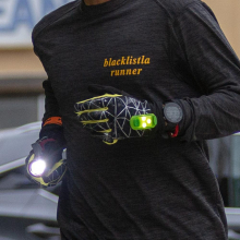 HyperNight Reflective Glove  - Men's by Nathan in Gaithersburg MD