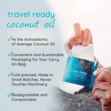 Individual Coconut Oil Wipe
