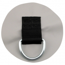 """Canoe 2"""" D-Ring PVC Patch by NRS"""