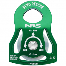 """Revo Rescue 2"""" Pulley by NRS"""