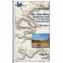 RiverMaps San Juan River 3rd Edition Guide Book by NRS