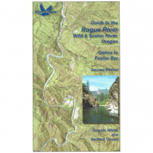 RiverMaps Rogue River 2nd Edition Guide Book by NRS