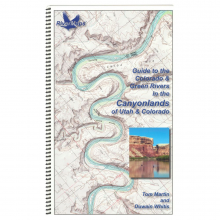 RiverMaps Colorado & Green Rivers in the Canyonlands Guide Book by NRS