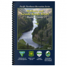 Wallowa & Grande Ronde Rivers Boater's Guide Book by NRS