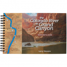 The Colorado River in Grand Canyon River Map & Guide by NRS