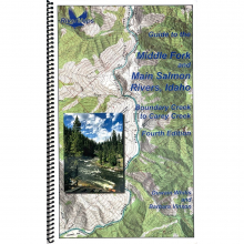 RiverMaps Middle Fork & Main Salmon River 4th Edition Guide Book by NRS