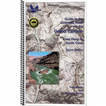 RiverMaps Colorado River in the Grand Canyon 8th Edition Guide Book by NRS
