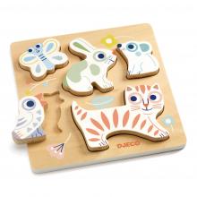 BabyAnimali Wooden Puzzle