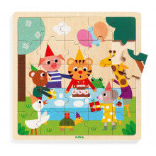 Puzzlo Happy Wooden Jigsaw Puzzle by DJECO in Bethesda MD
