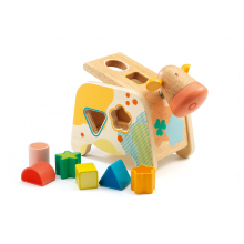 Cashatou Cow Wooden Shape Sorter by DJECO in Squamish BC