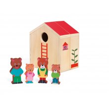 Minihouse Wooden Dollhouse Set by DJECO in Squamish BC