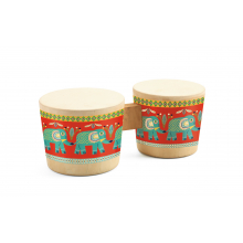 Animambo Bongo Drums Musical Instrument by DJECO in Marshfield WI