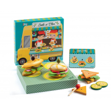 Emile & Olive Food Truck Sandwich Box Play Set by DJECO in Marshfield WI