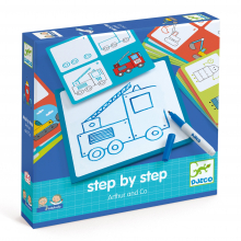 Arthur & Co Learn to Draw Step by Step by DJECO