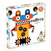 Kinoptik Robots Construction Animated Design Toy by DJECO in Marshfield WI