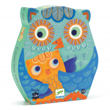 Hello Owl 24pc Jigsaw Puzzle by DJECO in Squamish BC