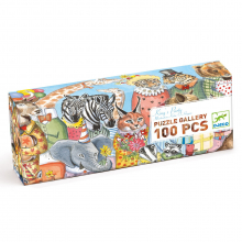 King's Party 100pc Gallery Jigsaw Puzzle + Poster by DJECO in Squamish BC