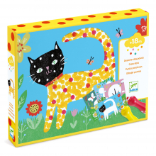 Small Dot Painting Craft Kit by DJECO in Marshfield WI