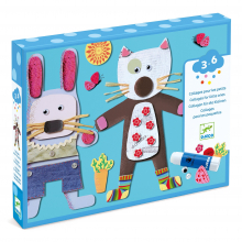 Collages for Little Ones Craft Kit by DJECO in Bethesda MD