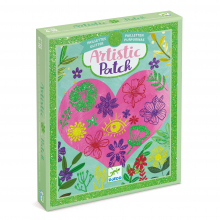 Petals Glitter Artistic Patch Transfer Activity Set by DJECO in Squamish BC