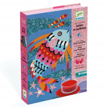 Fish Rainbow Colored Sand and Glitter Craft Kit by DJECO in Bethesda MD