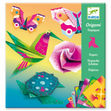 Tropics Origami Paper Craft Kit by DJECO in Squamish BC