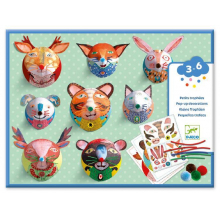 Portrait Gallery Animal Faces Craft Kit