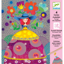 Beauties Ball Metallic Scratch Card Activity Set by DJECO in Squamish BC
