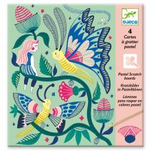 Fantasy Garden Scratch Card Activity Set by DJECO in Bethesda MD
