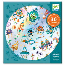 Inergalactic Holographic Sticker Sheets