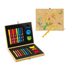 Box of Art Supplies for Toddlers by DJECO in Marshfield WI