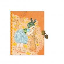 Elodie Lock + Key Secret Journal by DJECO